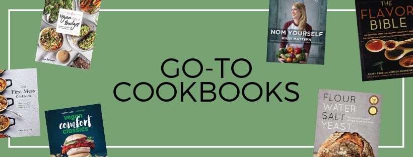 vegan cookbooks we love