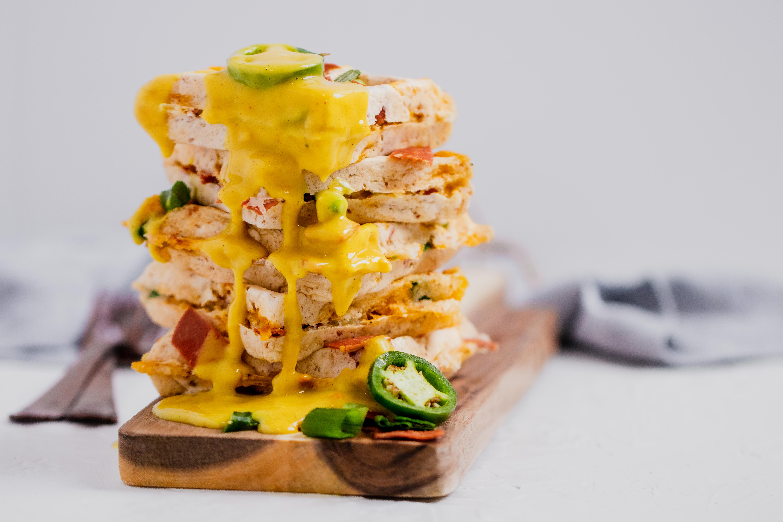 Bacon Jalapeño Waffle
