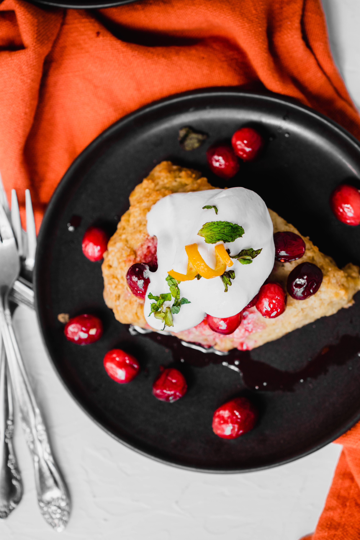 cranberry shortcake