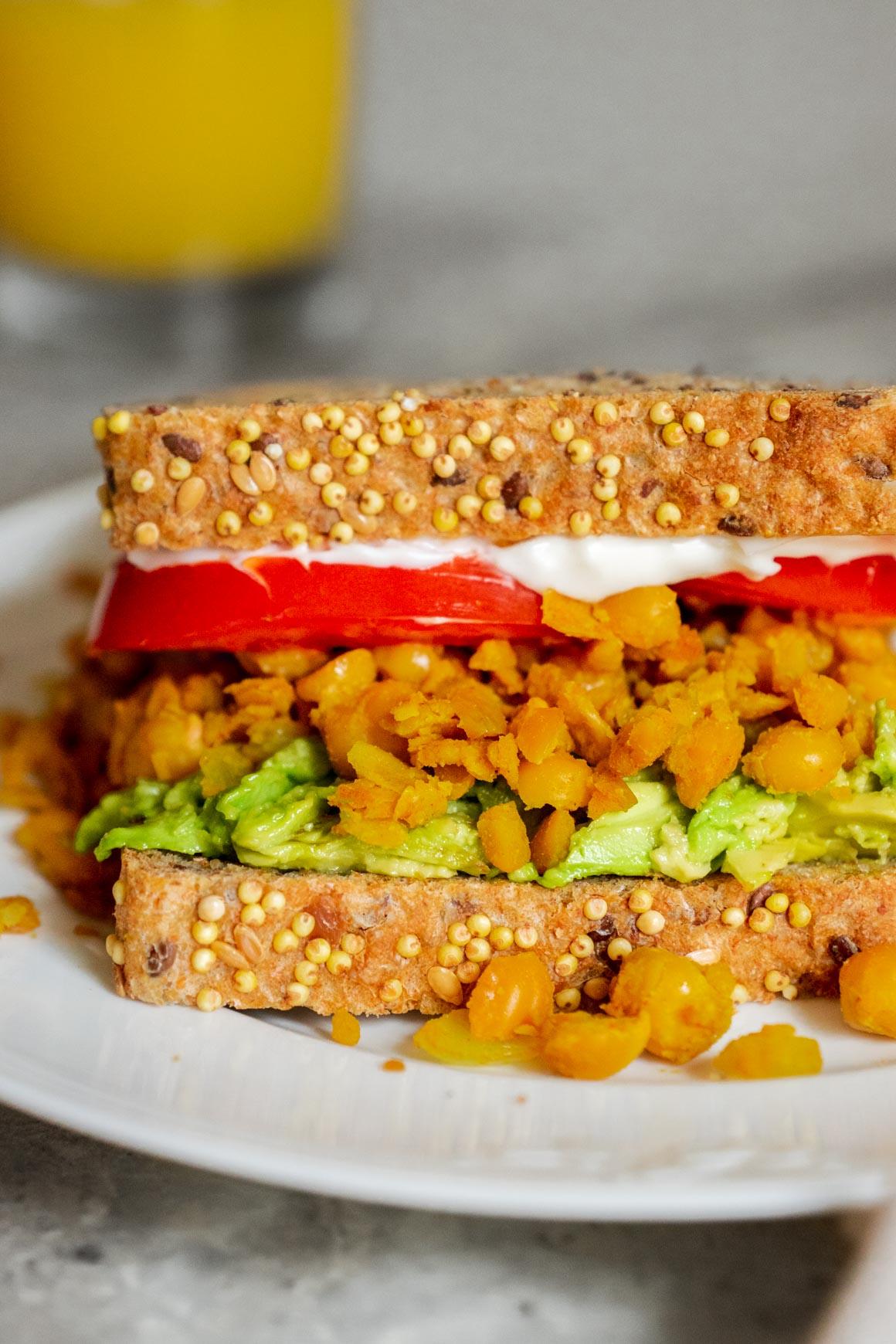 pantry-friendly chickpea scramble