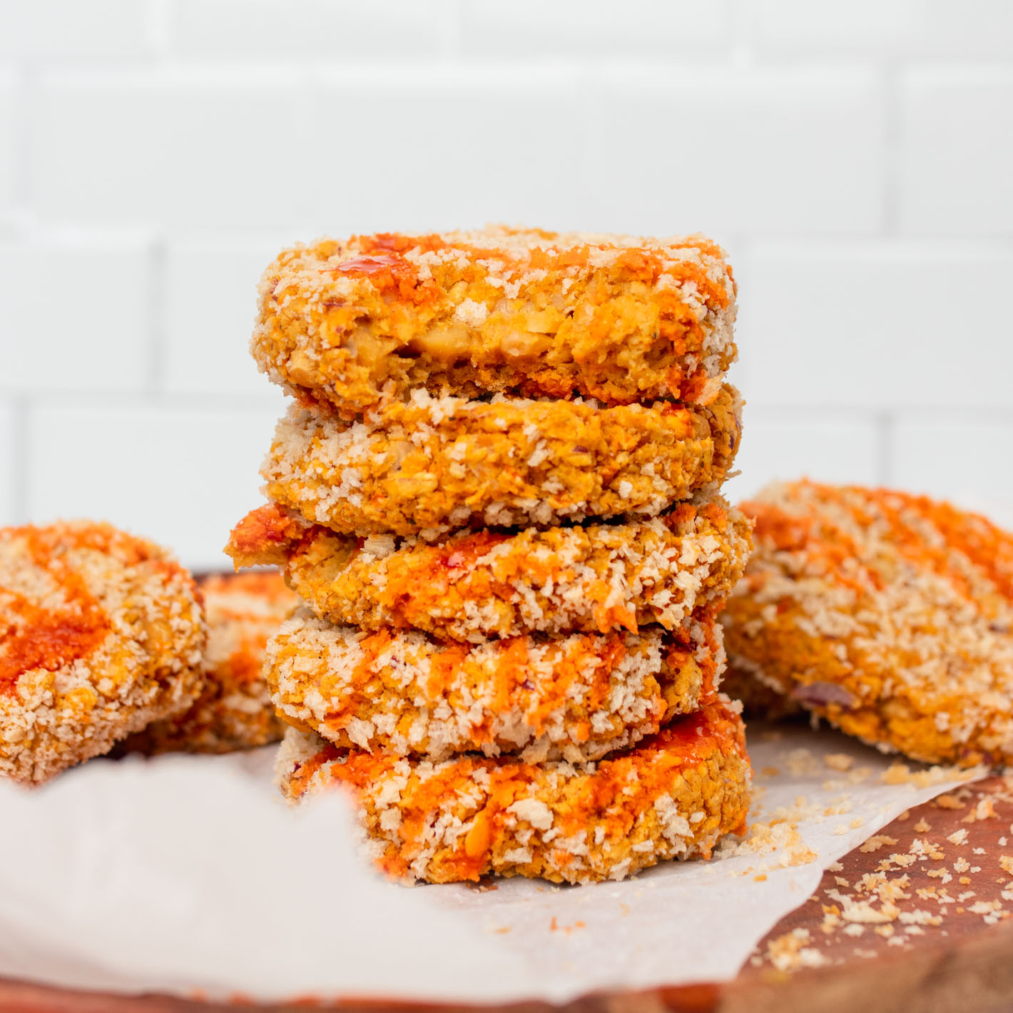 Chickpea Oat Patties