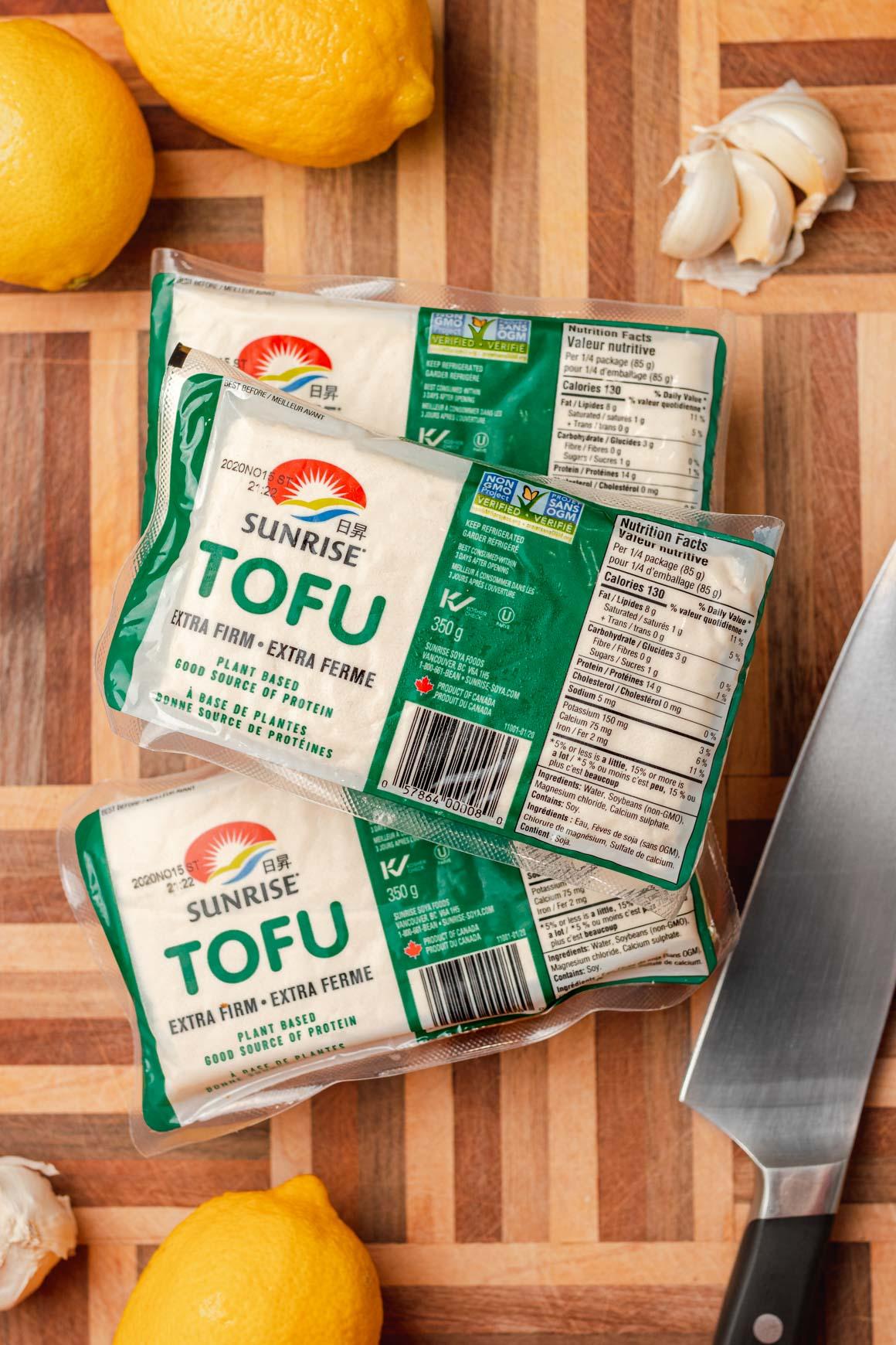 Sunrise Soya Foods Extra Firm Tofu