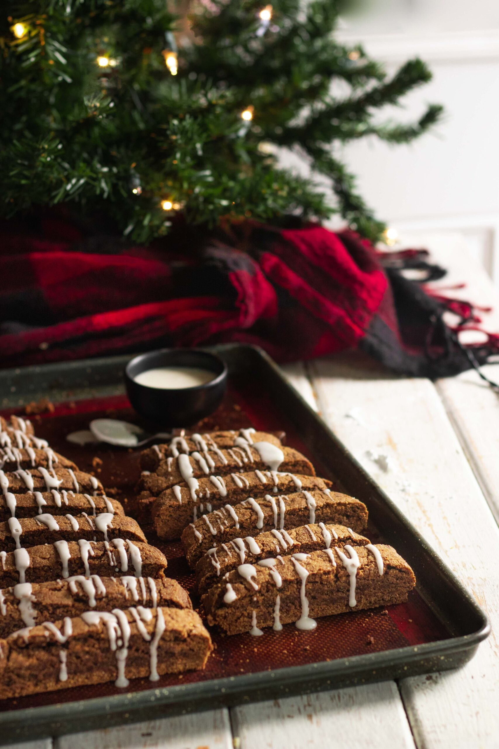 Vegan Holiday Cookie Gingerbread Biscotti