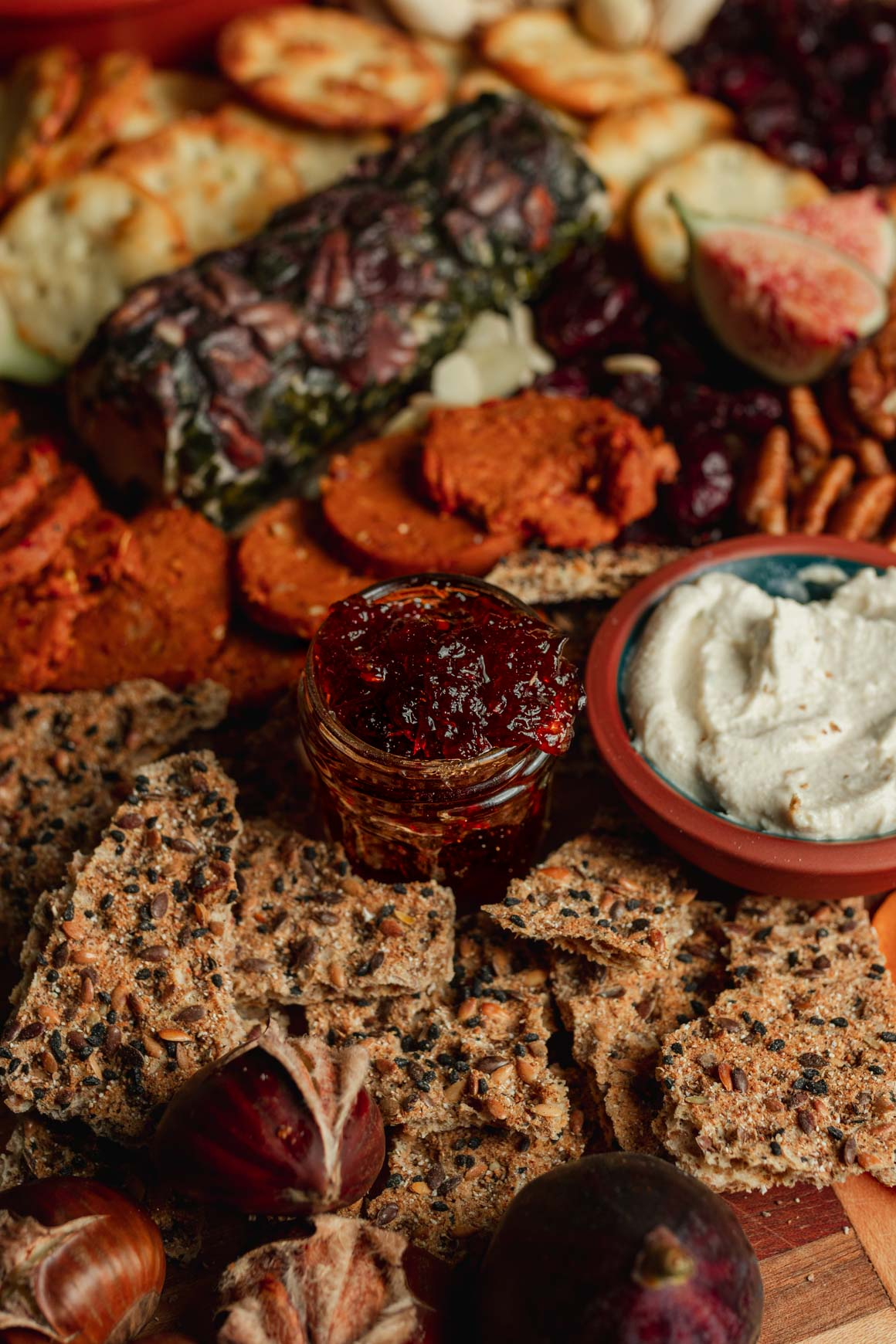 Holiday Vegan Cheese Board | Two Market Girls