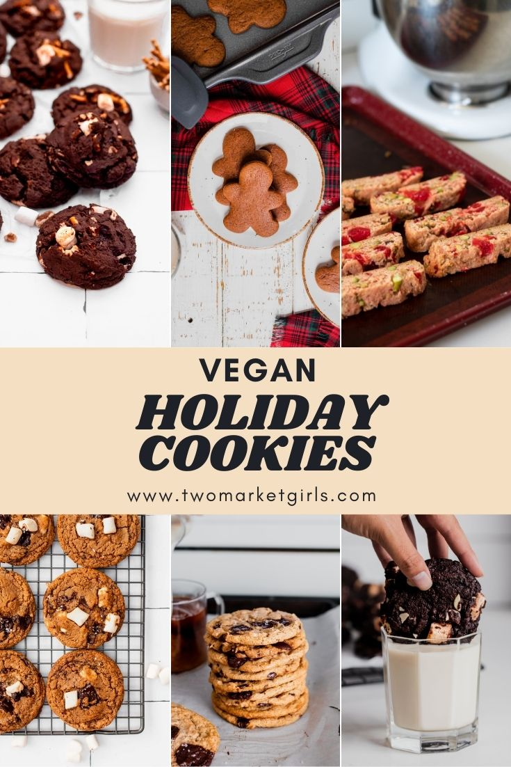 Vegan Holiday Cookie Recipes | Two Market Girls