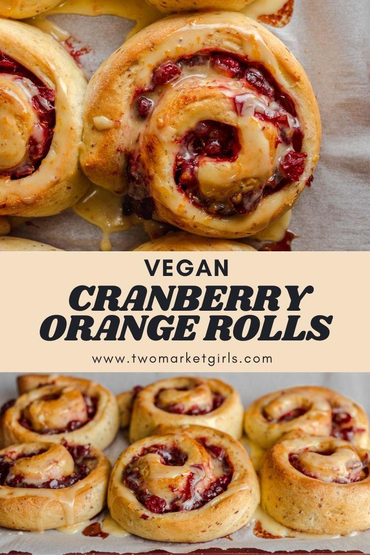 Cranberry Orange Rolls | Two Market Girls